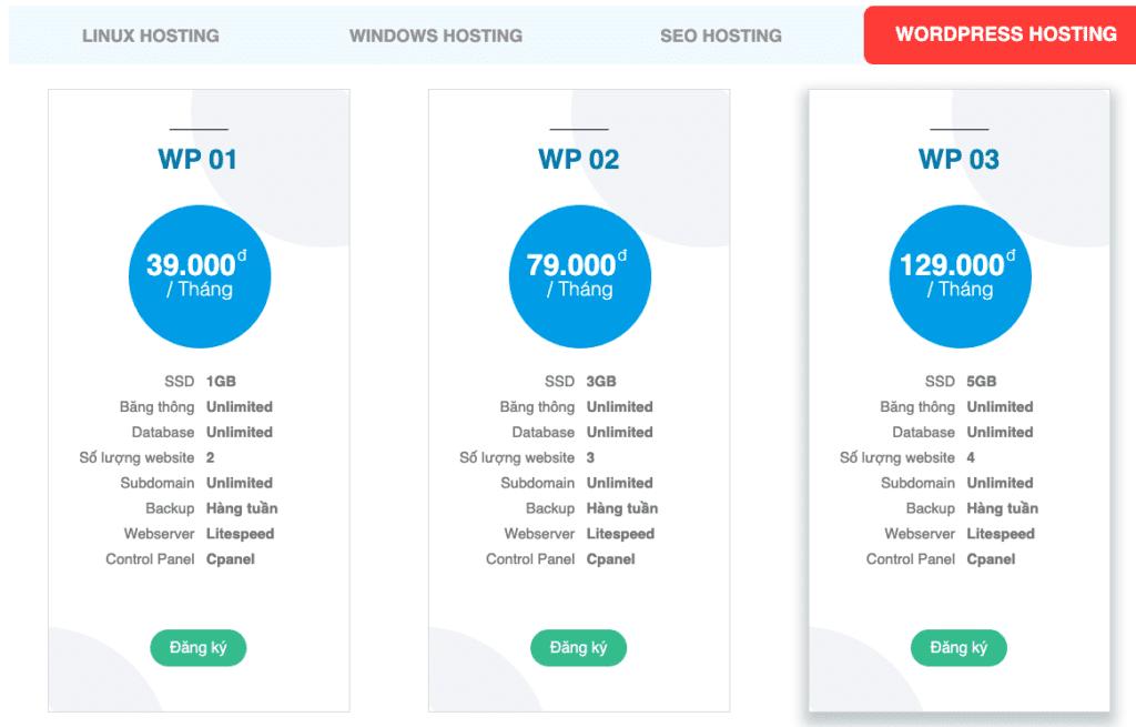 Tặng mã giảm giá 30% cho WordPress Hosting tại KDATA
